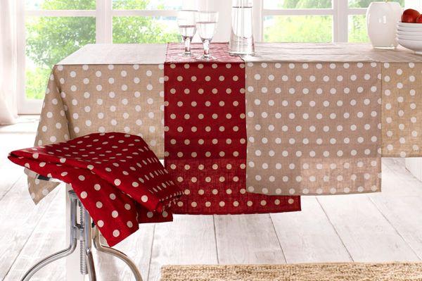 une nappe de table festive et moindre co t reduc2deco. Black Bedroom Furniture Sets. Home Design Ideas